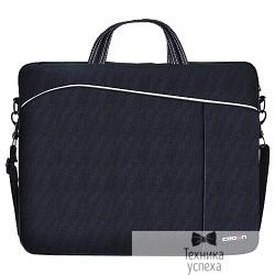"CROWN CMB-438 Сумка для ноутбука  (black) 15,6"""