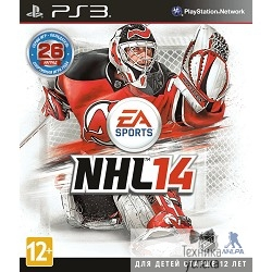 Диск для приставки PS3: NHL 14 (русские субтитры)