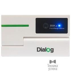 Веб-камера Dialog WC-50 (U) WHITE-GREEN - 350K, встр. микрофон, USB 2.0, бело-зеленая