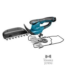 Makita UH200DWX Аккумуляторные ножницы для травы+кусторез [UH200DWX] 10.8В,1х1.3Ач Li-ion, рез-8мм, шина-160мм, з\<wbr>у