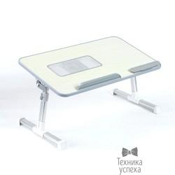 """ORIENT FTNB-02N  ( Столик раскладной для ноутбука , до 19"""" , регулировка наклона, высота от 23.5 до 32см, резиновая подставка под запастье руки, цвет бежевый)"""