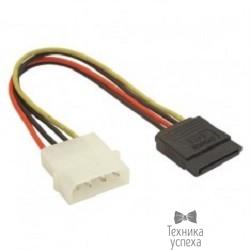 "5bites SATA-15P015S Переходник питания 5.25""-SATA 0.15м."